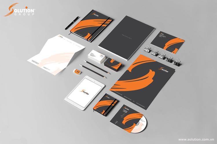 Thiết kế bộ nhận diện thương hiệu Solution