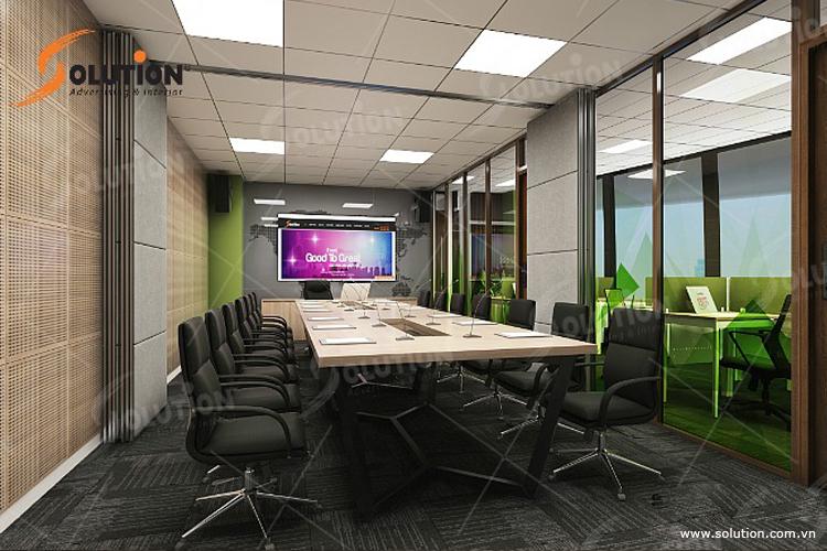Thiết kế nội thất văn phòng Hồ Chí Minh Solution